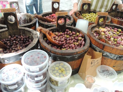olives at Old Biscuit Mill