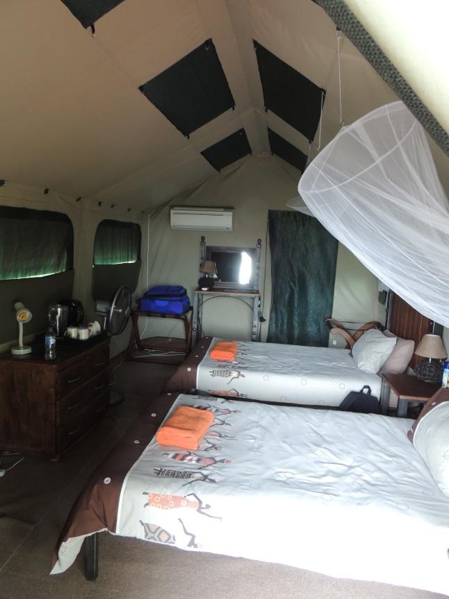 Tydon Safari Tent Interior