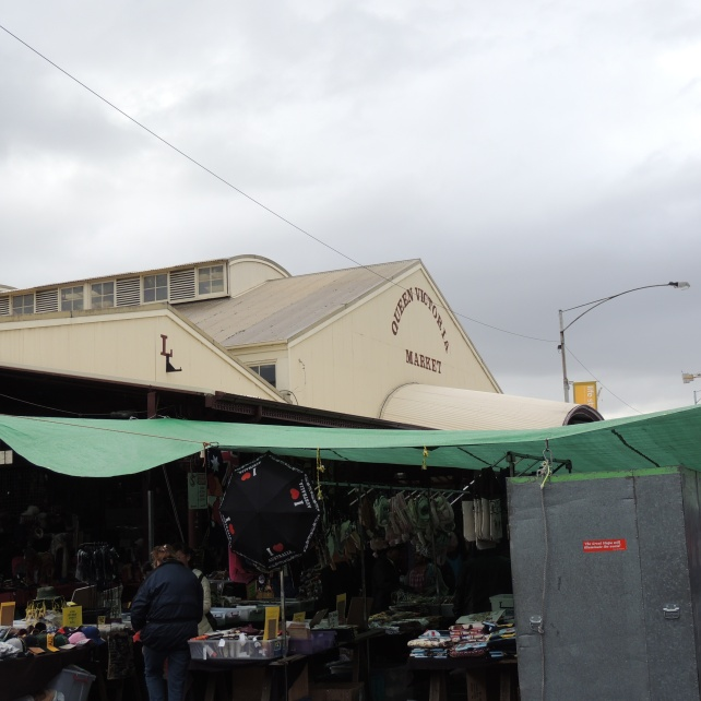 Covered Stalls Queen Vic Market