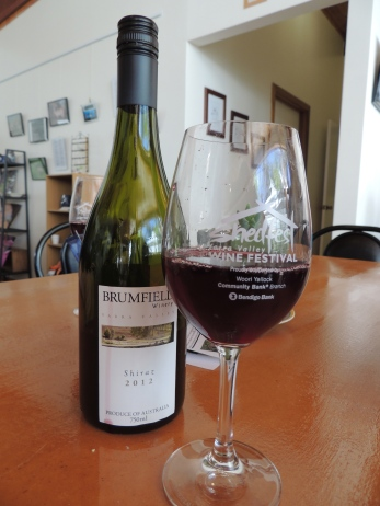 Shedfest Bromfield Winery Shiraz