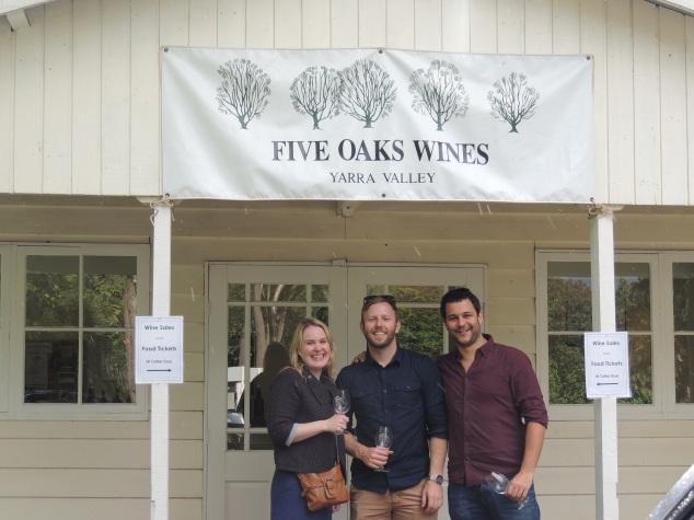 Shedfest Five Oaks Winery