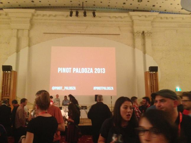 Pinot Palooza 2013 St. Kilda Town Hall