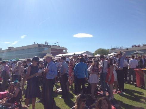 Caulfield Cup Crowd