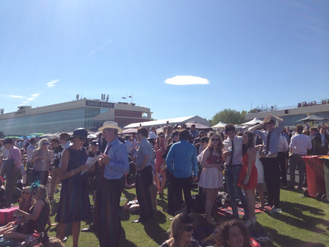 Caulfield Cup Crowd
