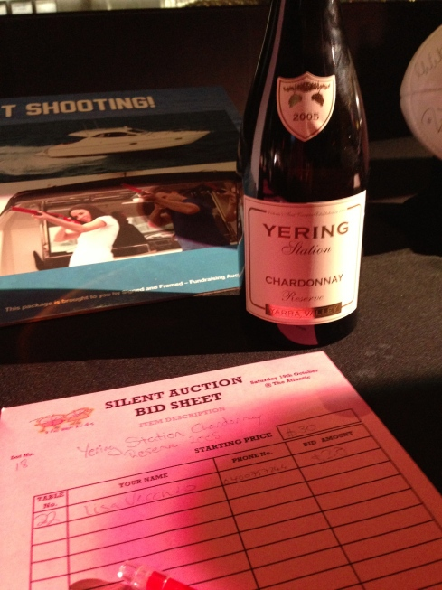 Wee Gala Silent Auction