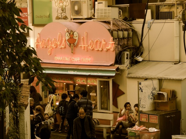 Angel Hearts crepes, Harajuku