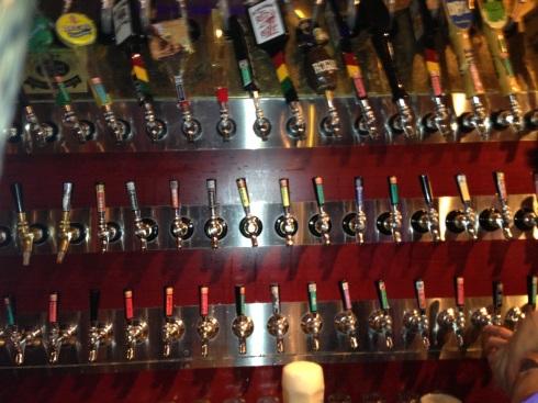 Popeyes' craft beer bar
