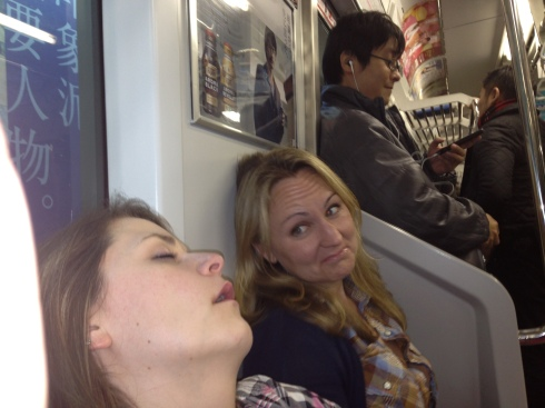 sleepin on trains