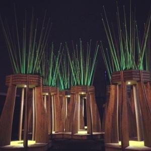 Tree Houses for Swamp Dwellers by Julia Morison; Scape Public Art