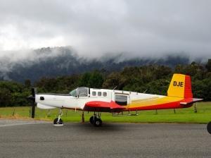 Skydive Fox Glacier Plane