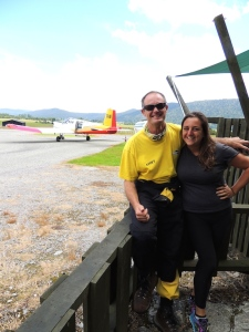 Lisa and Francoise, Skydive Fox Glacier