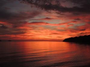 Sunset Pulau Tiga