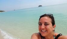 Lisa on Sand Spit Island