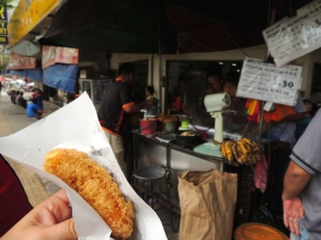 """Best banana fritter in all of KL"""