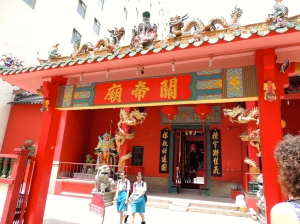 Taoist warrior temple
