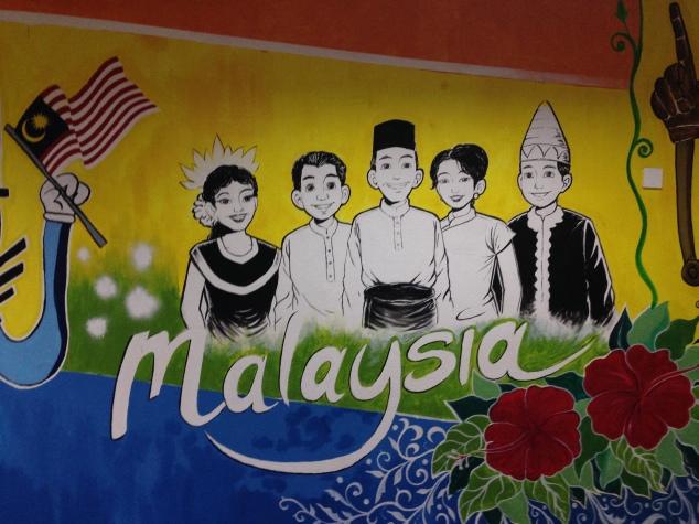 Malaysia Mural