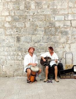 Musicians Dubrovnik Wall