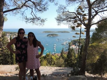 Top of Spanish Fortica, Hvar