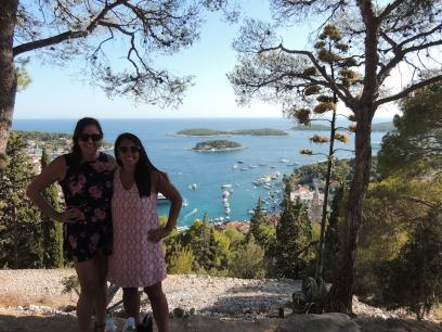 Top of Spanish Fortica, Hvar