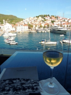 View from Adriana Hotel Hvar