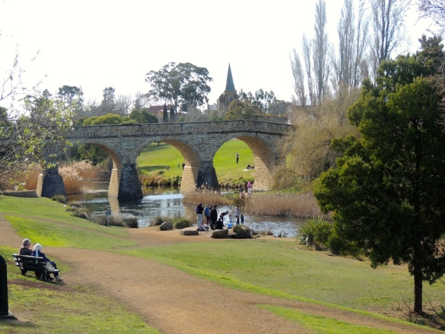 Oldest Bridge in Australia, Richmond, Tasmania
