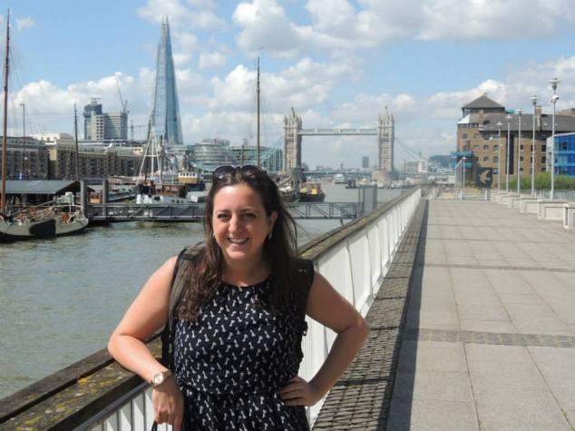 Lisa Vecchio, Tower Bridge, London
