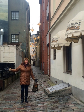 Lisa Vecchio, Old Town, Riga
