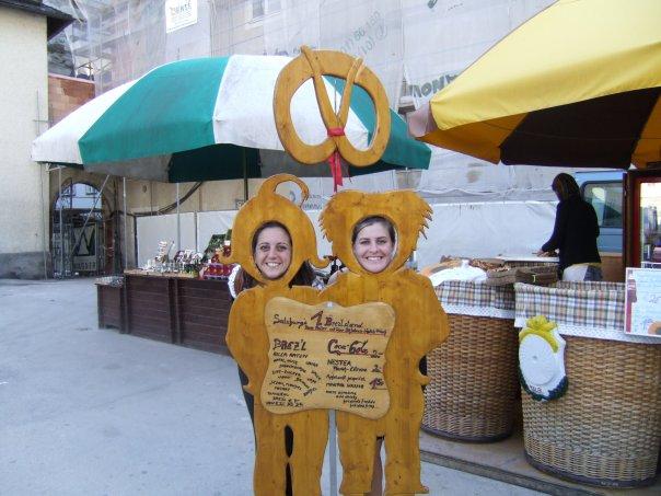 Salzburg pretzel twins