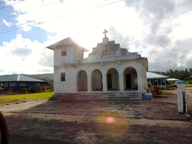 Church on Upulou, Samoa