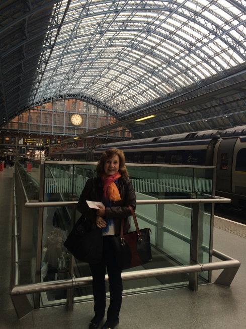 JoAnn Rose in St. Pancreas International