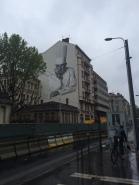 Paul Bocuse mural, Lyon