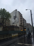 Paul Bocuse mural, Lyon