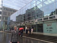Jake at Les Halles de Lyon Paul Bocuse