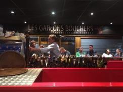 Les Garcons Bouchers at Les Halles