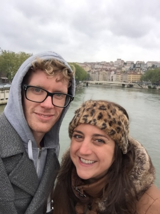 Jake and I and the Saône River, Lyon
