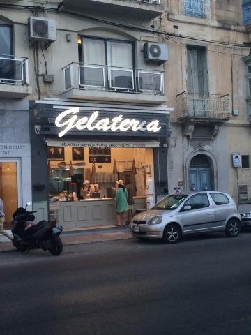 Gelateria, Malta