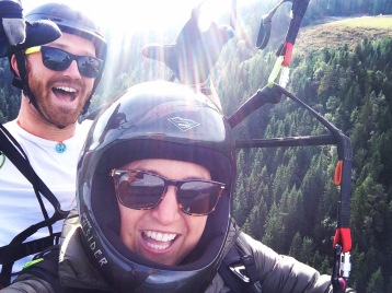 Tandem paragliding with Biorjan in Voss