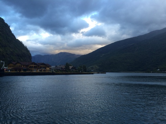 View from Flam Marina & Apartments