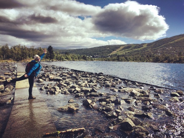 Trekking around Geilo