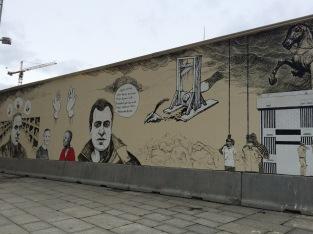 Street art at Nobel Peace Center