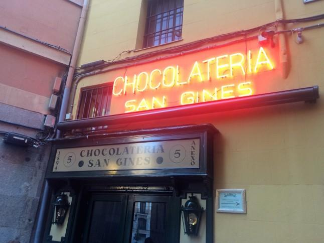 San Gines Chocolateria