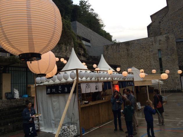 Japanese pop up, Cinema Caravan, San Sebastian
