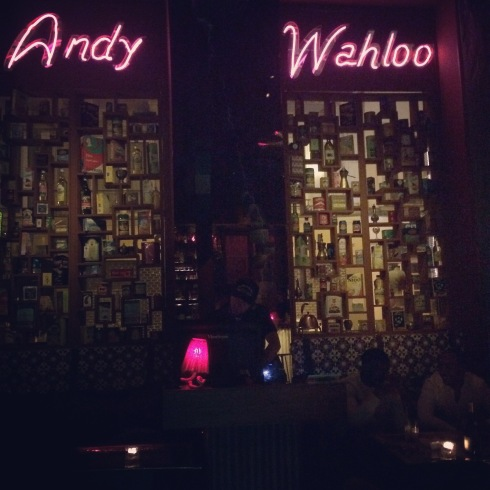 Andy Wahloo cocktail bar, Paris