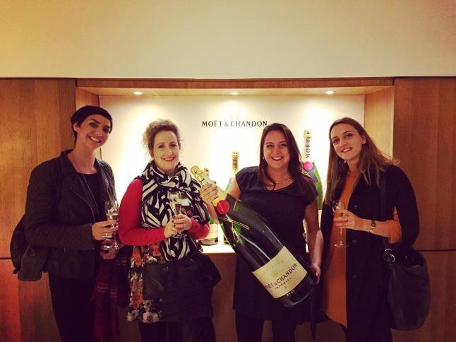 Magnum of Champagne at Moet & Chandon