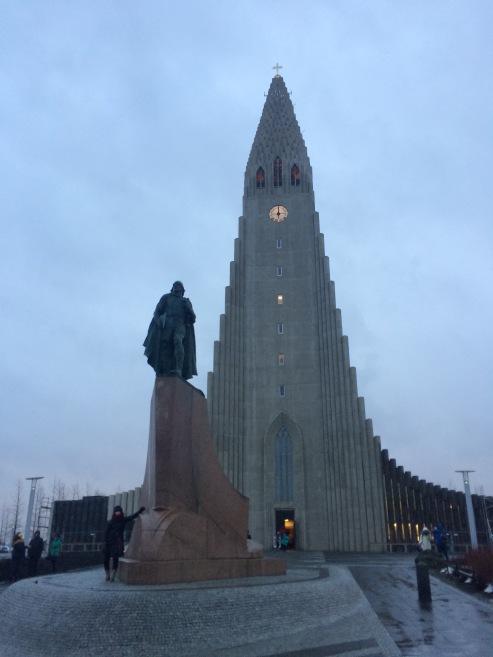 Iceland's largest church Hallgrímskirkja