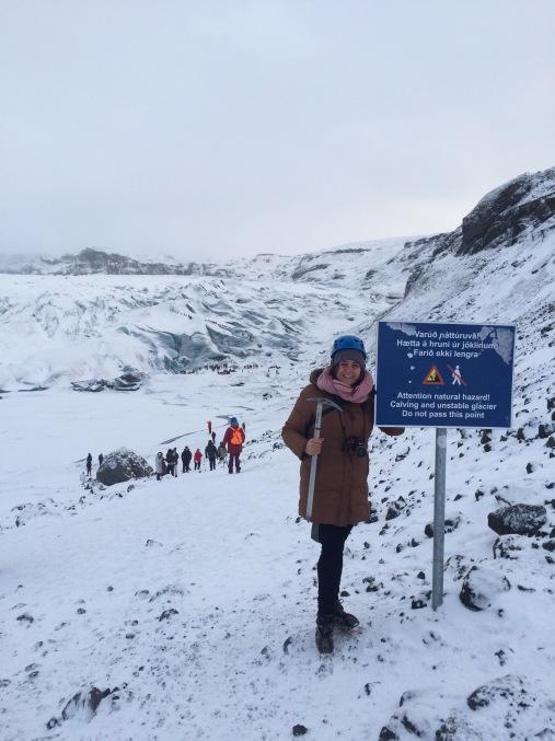 Start to Sólheimajökull glacier hike