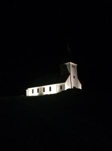 Vik town church