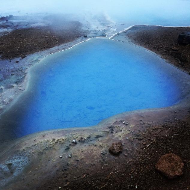 Geothermal pool Geysir