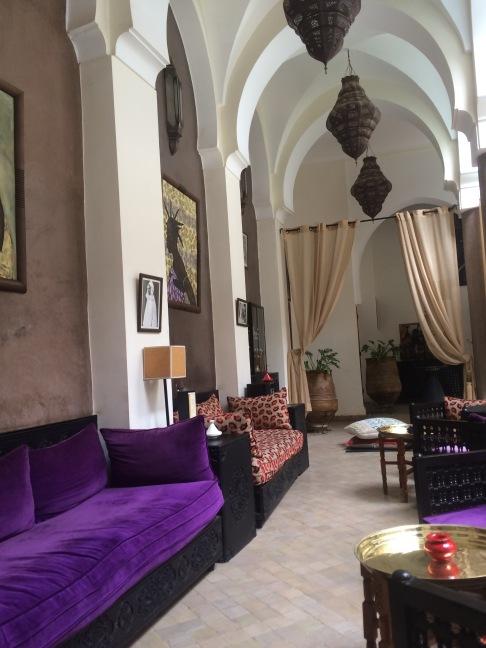 Palias Calipau lobby, Marrakech
