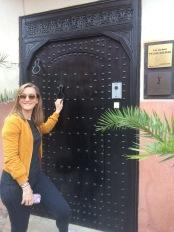 Palias Calipau door, Marrakech